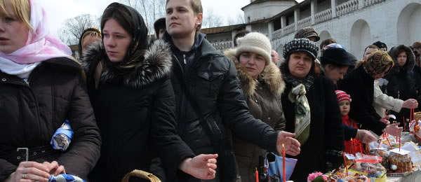 Православные верующие готовятся встретить Пасху