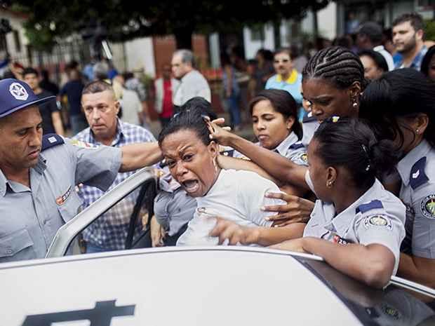 власти Кубы разогнали протестный марш