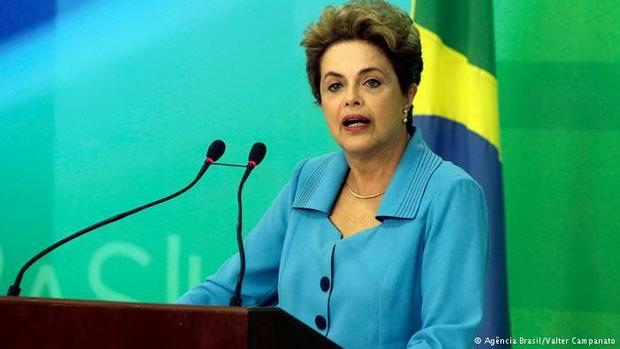 Президент Бразилии назвала импичмент попыткой путча