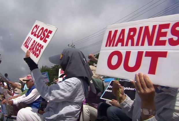 Японцы взбунтовались против военных США