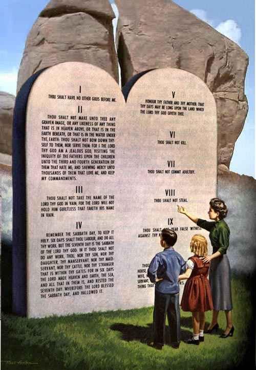 Полная исповедь по 10 заповедей в божьем заповеди блаженства