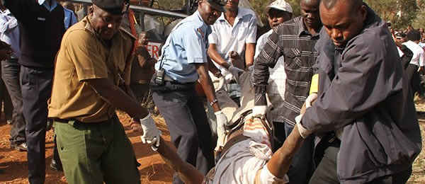 В Кении