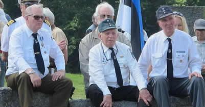 Эстонские ветераны СС