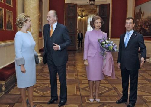 Встреча Медведевых и Ротшильдов