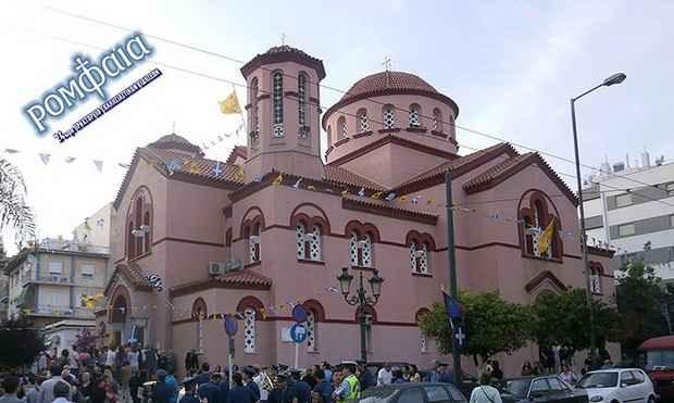 В Греции неизвестные, говорившие на арабском, подожгли православный храм