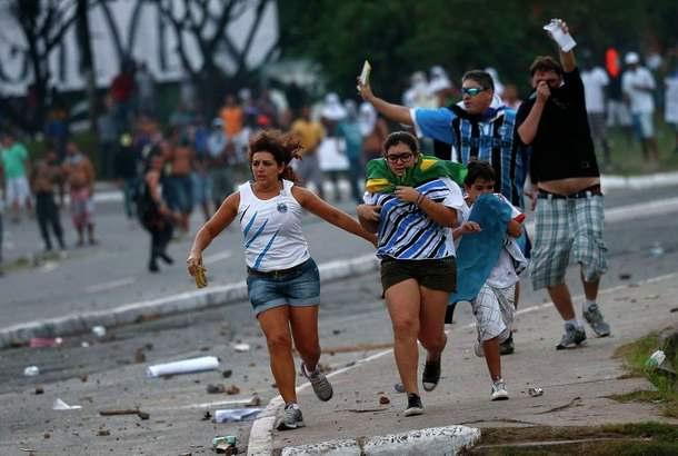 Волнения в Бразилии
