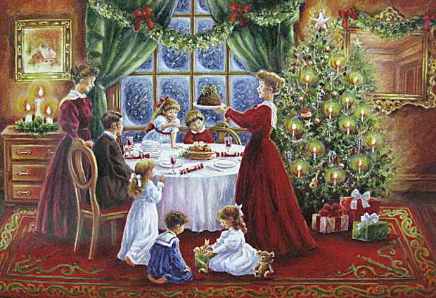 Поздравление с рождеством семью