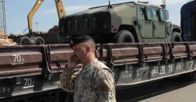 Транзит грузов НАТО