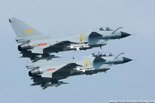 истребители J-10