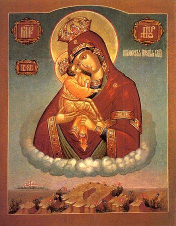 о Почаевской иконе Божией Матери