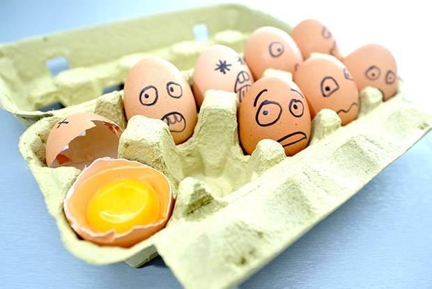Борцы с яйцами