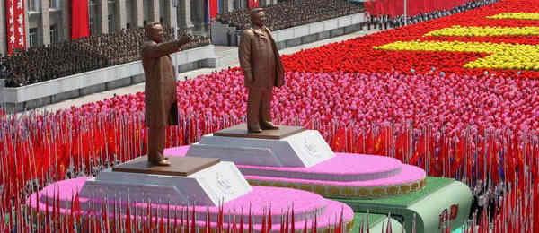 парад_Северная Корея