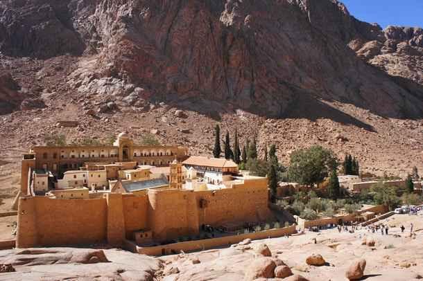 монастырь св. Екатерины, на Синайской горе