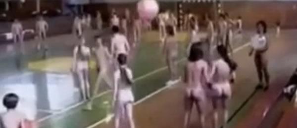 голый урок физкультуры у девочек