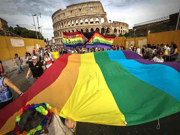 Первый однополый союз зарегистрирован в Италии