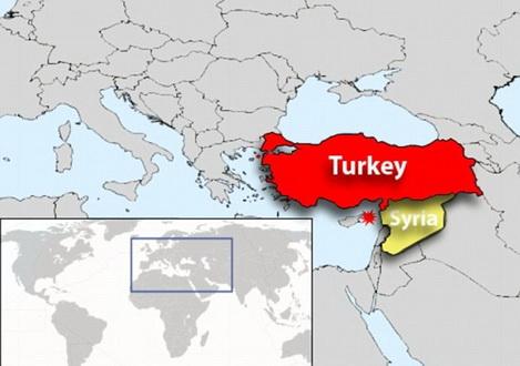Сирия,Турция