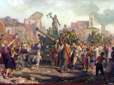 Минск 3-го июля 1944 года