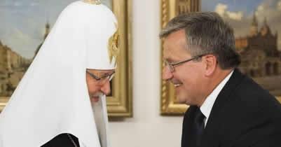 Патриарх Кирилл и президент Польши