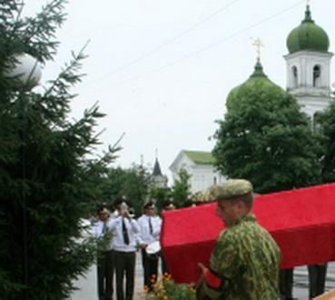 Похороны офицера