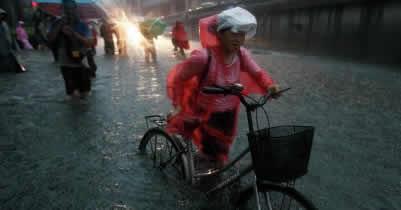 Ливень в Пекине