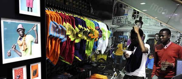 Магазин в ЮАР