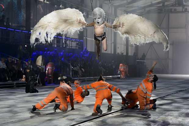 Окультный ритуал открытия Готтардского туннеля в Швейцарии