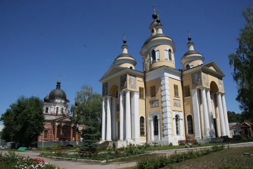 Казанский храм Вышенской обители